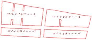 نمونه ای از بلوکهای آماری به همراه کد هر بلوک