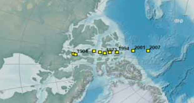 تئوری انتقال قطبی (Polar Shift Theory) توضیحی است برای جابجا شدن قطب شمال