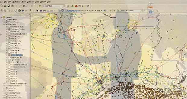 زیرساخت داده مکانی(SDI) بستری مناسب برای مشارکت جامع ارگانهای مختلف خواهد بود