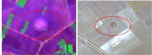 مقایسه تصویر حرارتی و انعکاسی