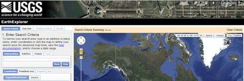 USGS Earth Explorer