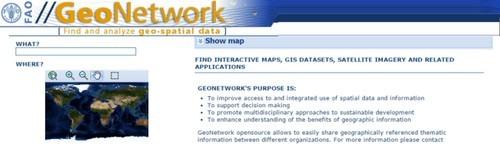 داده های GISای رایگان FAO GeoNetwork