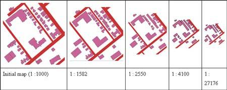 اثر مقیاس در جنرالیزه کردن نقشه ها