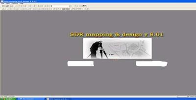 تصویر صفحه ورودی SDRMAP v8.x