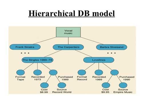 مدل داده (Data Model) سلسه مراتبی یا درختی