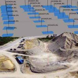 برای تهیه مدل سه بعدی، تصاویر مختلفی با پوشش عرضی و طولی مناسب از منطقه مورد نظر گرفته شده و در نرم افزار مورد تحلیل قرار میگیرد