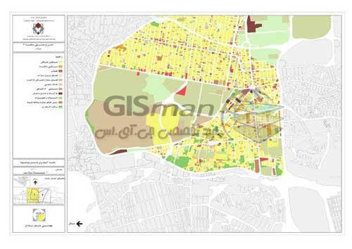 تهیه نقشه با امکانات موجود در ArcMap