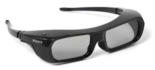 نمونه یک عینک شاترگلاس که از لحاظ وزن و ابعاد بهینه شده است