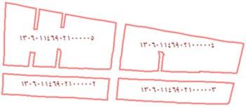 نمونه ای از چند بلوک آماری به همراه کد آماری آنها
