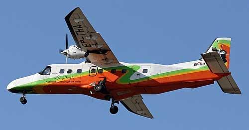 هواپیمای دورنیر مخصوص عکسبرداری هوایی، متعلق به سازمان نقشه برداری کشور