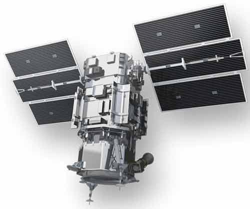نمایی از نسل اول ماهواره WorldView