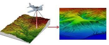 تهیه مدل ارتفاعی رقومی با لیدار